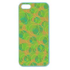 Green decorative art Apple Seamless iPhone 5 Case (Color)