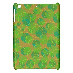 Green decorative art Apple iPad Mini Hardshell Case