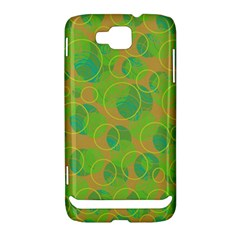 Green decorative art Samsung Ativ S i8750 Hardshell Case