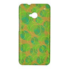 Green decorative art HTC One M7 Hardshell Case