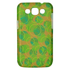 Green decorative art Samsung Galaxy Win I8550 Hardshell Case