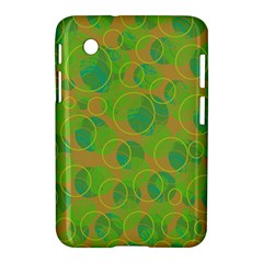 Green decorative art Samsung Galaxy Tab 2 (7 ) P3100 Hardshell Case