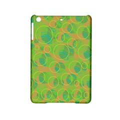 Green decorative art iPad Mini 2 Hardshell Cases
