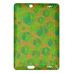 Green decorative art Amazon Kindle Fire HD (2013) Hardshell Case
