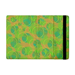 Green decorative art iPad Mini 2 Flip Cases