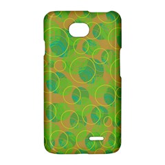 Green decorative art LG Optimus L70