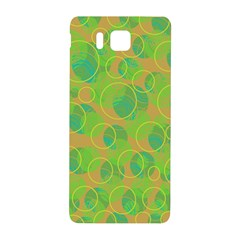 Green decorative art Samsung Galaxy Alpha Hardshell Back Case