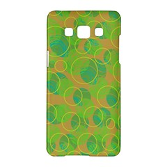 Green decorative art Samsung Galaxy A5 Hardshell Case