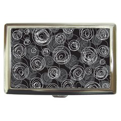 Gray abstract art Cigarette Money Cases