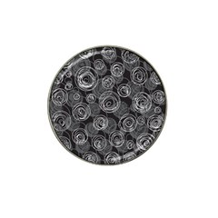 Gray abstract art Hat Clip Ball Marker (10 pack)