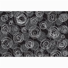 Gray abstract art Collage Prints