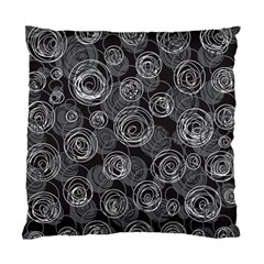 Gray abstract art Standard Cushion Case (Two Sides)