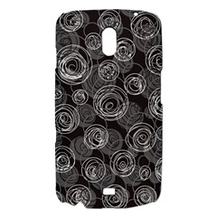 Gray abstract art Samsung Galaxy Nexus i9250 Hardshell Case