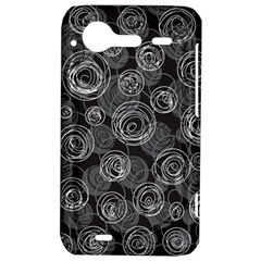 Gray abstract art HTC Incredible S Hardshell Case