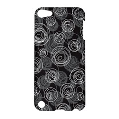 Gray abstract art Apple iPod Touch 5 Hardshell Case