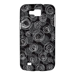 Gray abstract art Samsung Galaxy Premier I9260 Hardshell Case