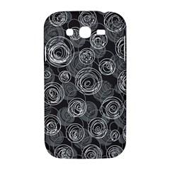Gray abstract art Samsung Galaxy Grand DUOS I9082 Hardshell Case
