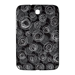Gray abstract art Samsung Galaxy Note 8.0 N5100 Hardshell Case