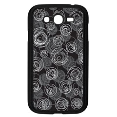 Gray abstract art Samsung Galaxy Grand DUOS I9082 Case (Black)
