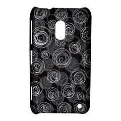 Gray abstract art Nokia Lumia 620