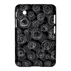 Gray abstract art Samsung Galaxy Tab 2 (7 ) P3100 Hardshell Case
