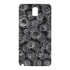 Gray abstract art Samsung Galaxy Note 3 N9005 Hardshell Back Case