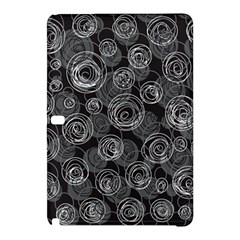 Gray abstract art Samsung Galaxy Tab Pro 10.1 Hardshell Case