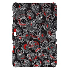 Red and gray abstract art Samsung Galaxy Tab 10.1  P7500 Hardshell Case