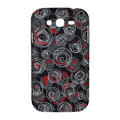 Red and gray abstract art Samsung Galaxy Grand DUOS I9082 Hardshell Case