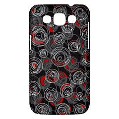 Red and gray abstract art Samsung Galaxy Win I8550 Hardshell Case