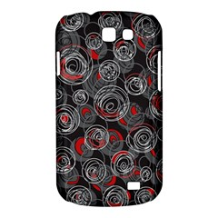Red and gray abstract art Samsung Galaxy Express I8730 Hardshell Case