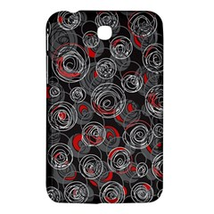 Red and gray abstract art Samsung Galaxy Tab 3 (7 ) P3200 Hardshell Case