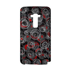 Red and gray abstract art LG G Flex