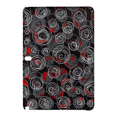 Red and gray abstract art Samsung Galaxy Tab Pro 10.1 Hardshell Case