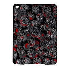 Red and gray abstract art iPad Air 2 Hardshell Cases