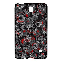 Red and gray abstract art Samsung Galaxy Tab 4 (7 ) Hardshell Case
