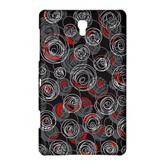 Red and gray abstract art Samsung Galaxy Tab S (8.4 ) Hardshell Case