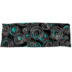 Gray and blue abstract art Body Pillow Case (Dakimakura)