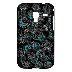 Gray and blue abstract art Samsung Galaxy Ace Plus S7500 Hardshell Case