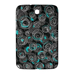 Gray and blue abstract art Samsung Galaxy Note 8.0 N5100 Hardshell Case