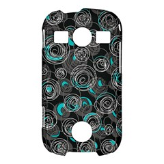 Gray and blue abstract art Samsung Galaxy S7710 Xcover 2 Hardshell Case