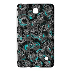 Gray and blue abstract art Samsung Galaxy Tab 4 (8 ) Hardshell Case