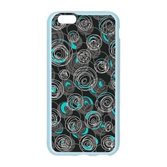 Gray and blue abstract art Apple Seamless iPhone 6/6S Case (Color)