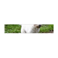 Westie Jumping Flano Scarf (Mini)