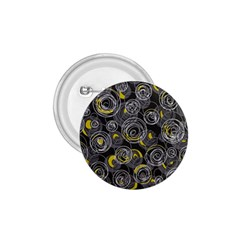 Gray and yellow abstract art 1.75  Buttons