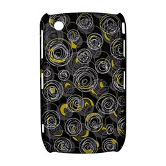 Gray and yellow abstract art Curve 8520 9300