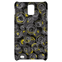Gray and yellow abstract art Samsung Infuse 4G Hardshell Case