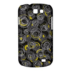 Gray and yellow abstract art Samsung Galaxy Express I8730 Hardshell Case