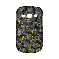 Gray and yellow abstract art Samsung Galaxy S6810 Hardshell Case