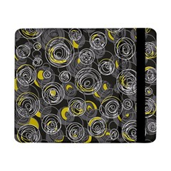 Gray and yellow abstract art Samsung Galaxy Tab Pro 8.4  Flip Case